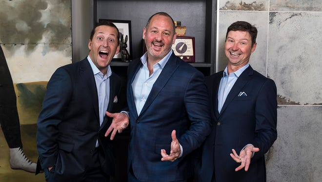 Vaco foundersBrian Waller, Jerry Bostelman and Jay Hollomon are proof positive that when work is fun, business is better.