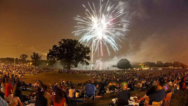 The Wauwatosa Fourth of July fireworks that were postponed because of inclement weather will be shooting off at 9:15 p.m. July 25.