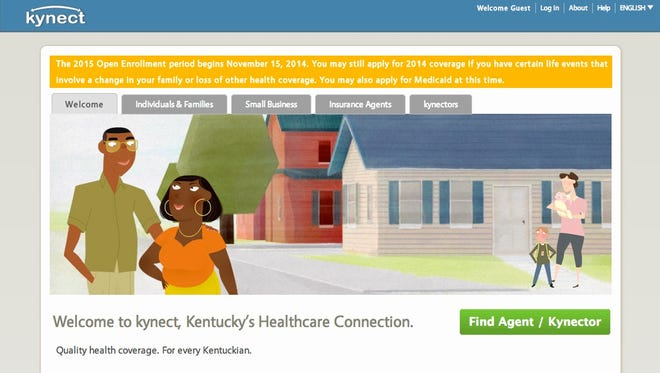 Kentucky's online health insurance marketplace has run pretty smoothly since Obamacare open enrollment launched Saturday, even as many others have faltered.Handout from kynect.ky.gov