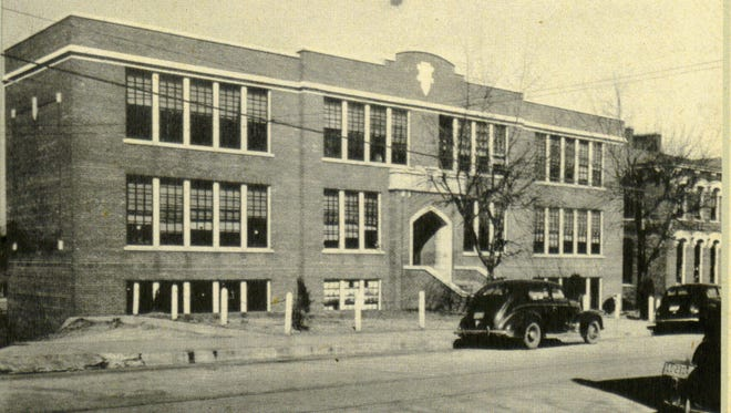 This undated photo shows where the old Burt High School stood on Franklin Street. The Burt-Cobb Community Center, at 1011 Franklin Street, is now located in the place of the former school.