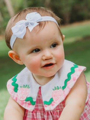 Kamryn Elyse Klappas, Sept. 16, 2016. Daughter of Pete and Amber Klappas.