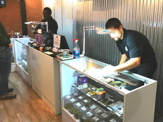 Cannabis 530 in Shasta Lake prepared Sunday for the first day that commercial sales of recreational marijuana will be legal in California.