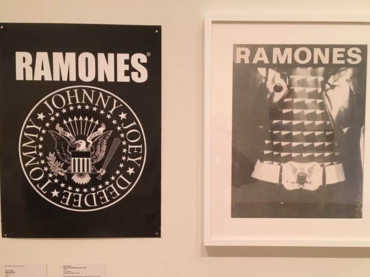 Posters for The Ramones when they performed at New