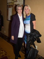 Our Desert Media Mavens -Judy Vossler and Kathy Strong.