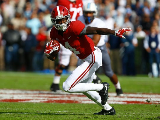 All-American receiver Jerry Jeudy will be one of the many weapons for Alabama against Oklahoma in the FBS playoff semifinals on Dec. 29.