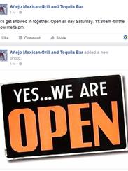 Añejo Mexican Grill & Tequila Bar in Wilmington's Trolley