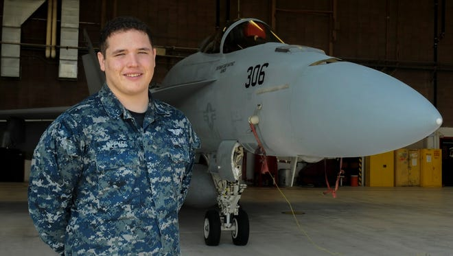 A Tuloso-Midway High School graduate and Corpus Christi native is serving in the U.S. Navy. Airman Christopher Reeves works as an aviation ordnance man and operates out of Naval Air Station-Lemoore, California.