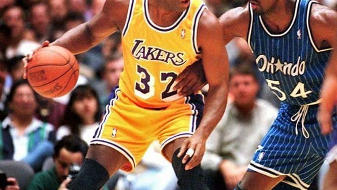 Magic Johnson is regarded as one of the best basketball players of all time.