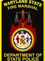 The Office of the Maryland State Fire Marshal badge.