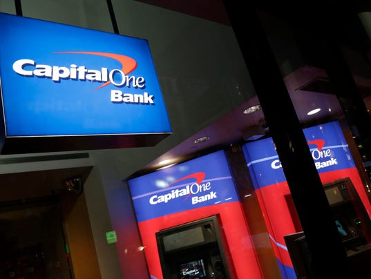 AP EARNS CAPITAL ONE F FILE A USA NY