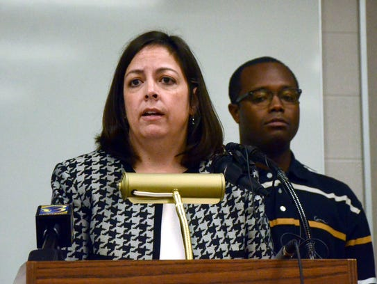 Battle Creek City Manager Rebecca Fleury talks about