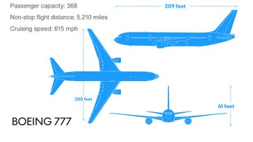 The aircraft involved in Malaysia Airlines crash.