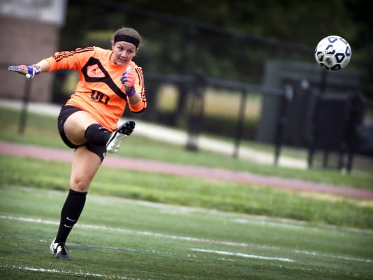 The Cedar Crest Falcons and Manheim Central played to a 0-0 draw Saturday morning in girls' soccer at Cedar Crest, September 5.