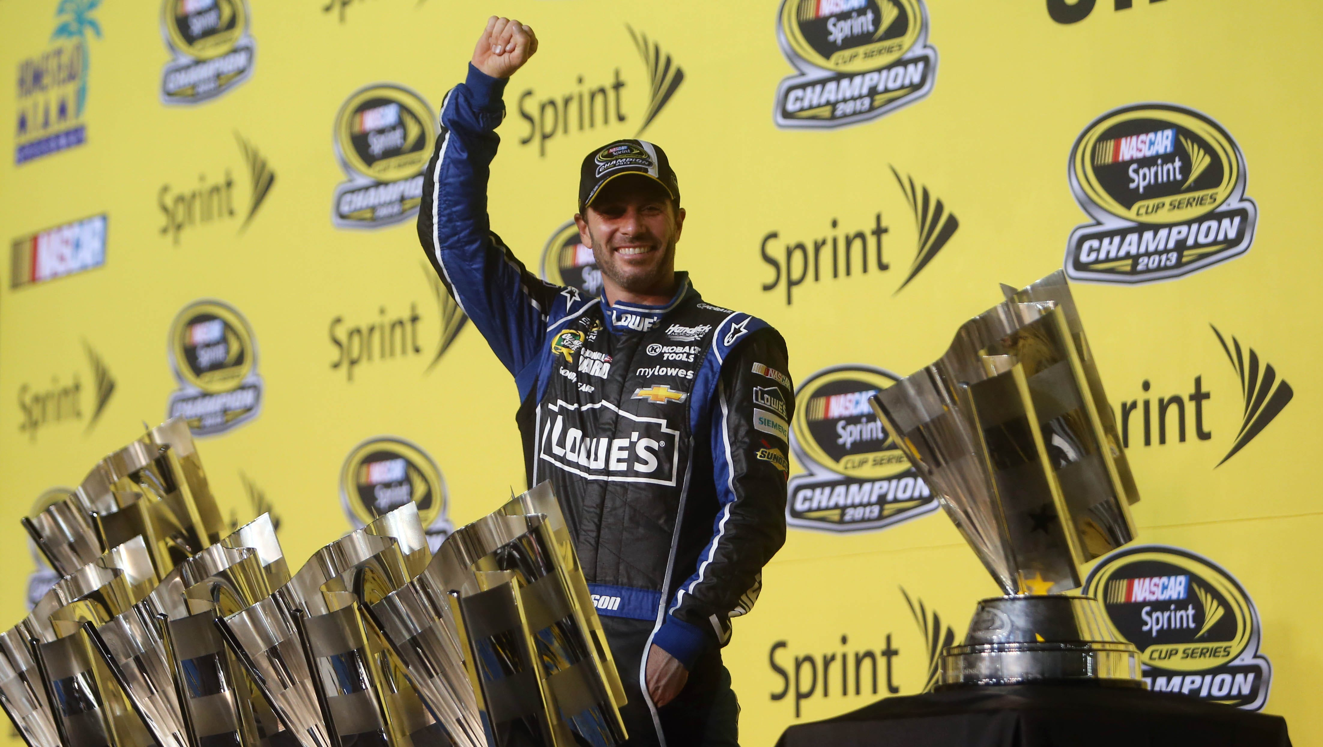 Image result for Jimmie Johnson Continues His NASCAR Dominance And Claims Fifth-Consecutive Title