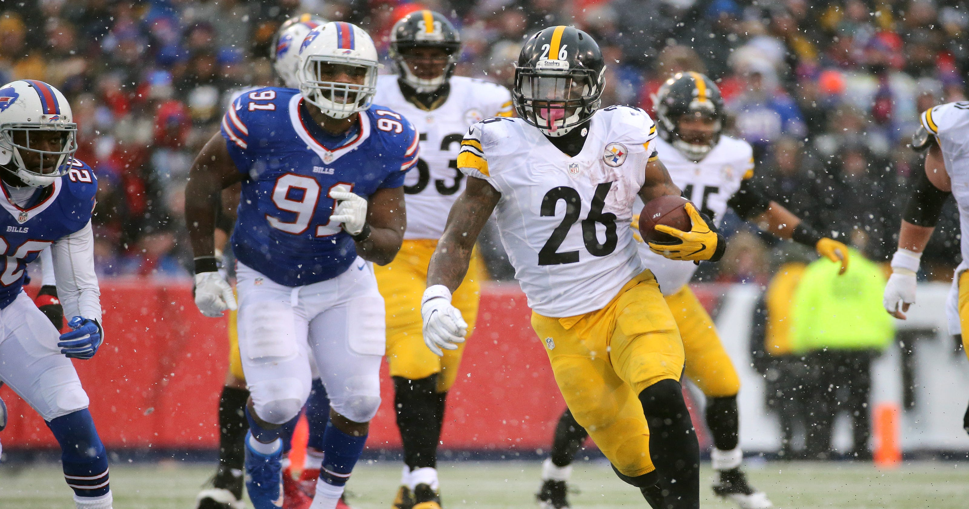 33ed5080a68 Bills pounded into ground by Bell, Steelers in 27-20 loss