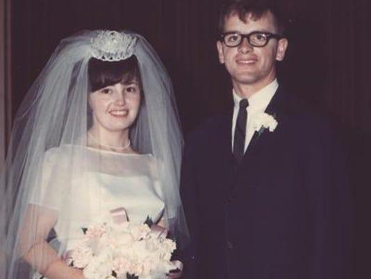 Anniversaries: Dave and Harlene McCollum & Harlene McCollum