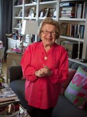Dr. Ruth Westheimer.