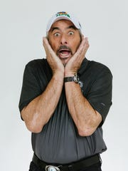 David Feherty, a former pro golfer on the European and PGA tour, will bring his one-man show to the Tennessee Performing Arts Center on Saturday.