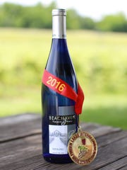 Beachaven Winery won the Gold Medal for their Riesling