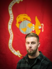 Retired United States Marine Corps Sgt. Tanner Leed,