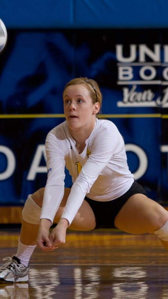 Lizzie Palmer and the Jackrabbits dropped their conference