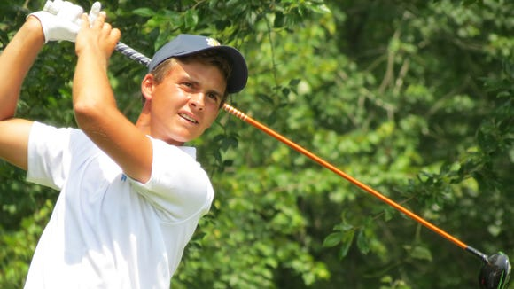 Mountainside's John Felitto can make a run at the 115th Met Amateur title.