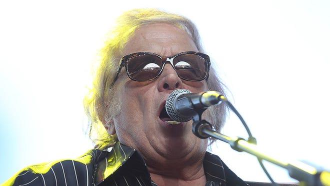 Don McLean performs on the Palomino Stage  at the Stagecoach Country Music Festival , Saturday, April 26, 2014.
