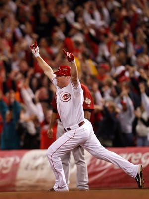 No. 4: Jay Bruce belts walkoff HR at Great American Ball Park, sending Reds to playoffs for first time in 15 years (2010).
