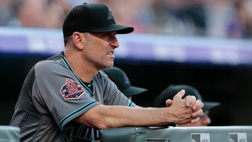 Diamondbacks manager 'insanely proud' of wife for coming forward with priest-abuse claim