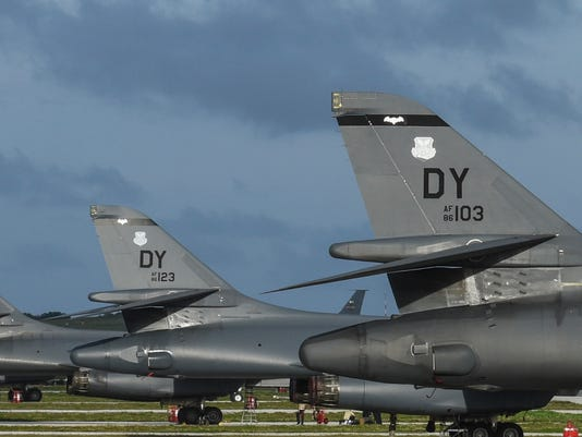 Dyess B-1s deploy to Andersen, take over Continuous Bomber Presence operations
