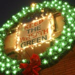 Central Wisconsin fire departments continue holiday wreath tradition