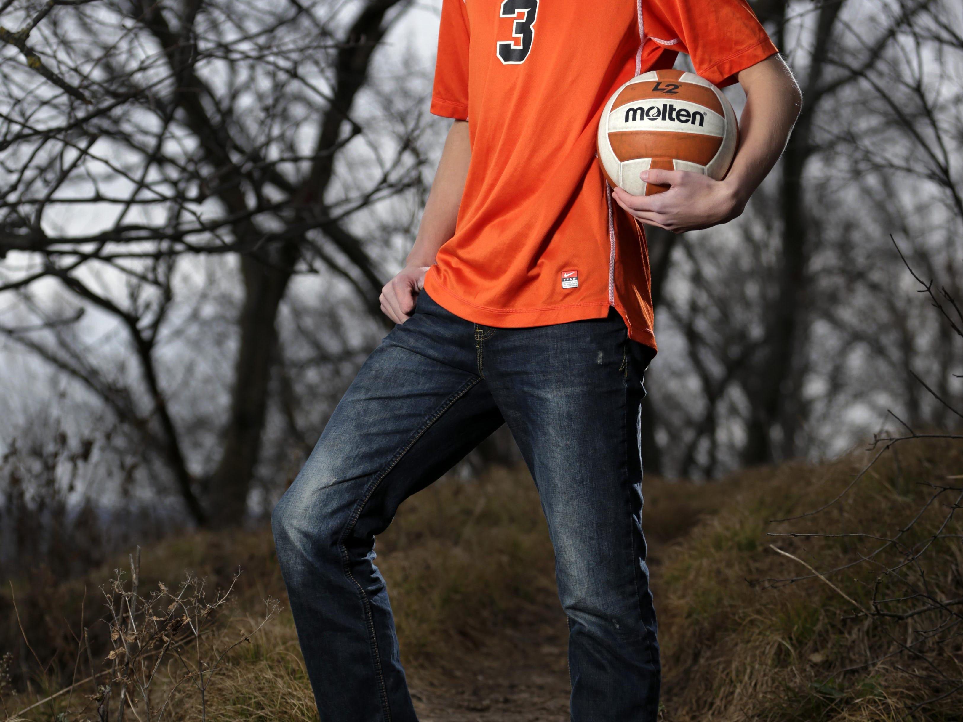 Kaukauna's Dalton Erdman is Post-Crescent Media's athlete of the year in boys' volleyball.