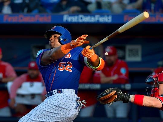 Mar 22, 2018; Port St. Lucie, FL, USA; New York Mets