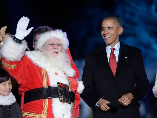 93rd annual National Christmas Tree Lighting on the Ellipse near the White House
