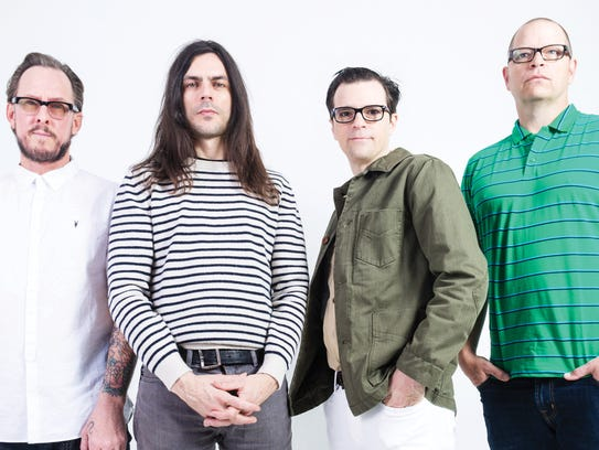 Weezer bring years of arena-rock cred to the main stage