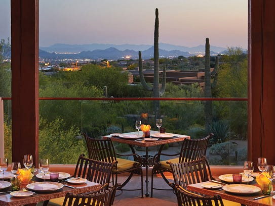 The breathtaking view at Talavera at the Four Seasons Resort Scottsdale at Troon North.