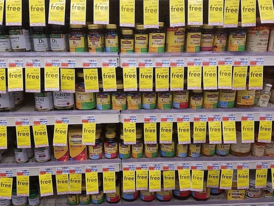 More than half of Americans take vitamin supplements,