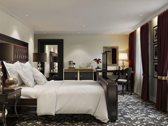 Retlaw Hotel Room