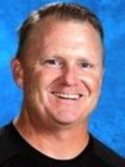 Clarenceville football coach Ryan Irish.