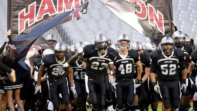 Chandler Hamilton's mammoth football program has had a Nike sponsorship for nine years.