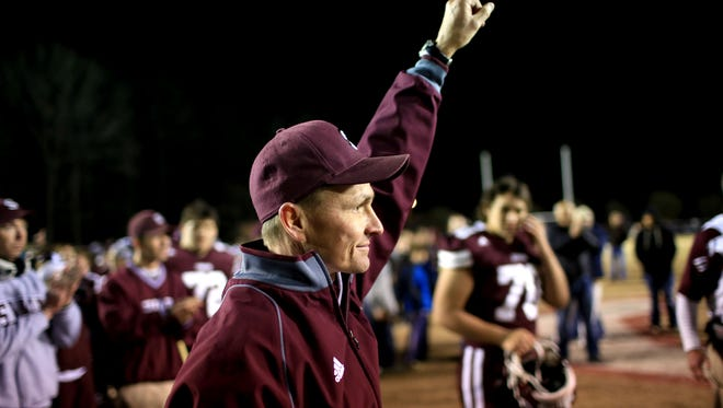 Swain County football coach Neil Blankenship has won more games (32) in his first three years than any of his predecessors with the Smoky Mountain Conference program.