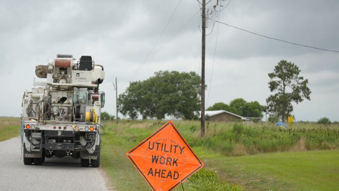 SLEMCO reported isolated power outages Tuesday and Wednesday.