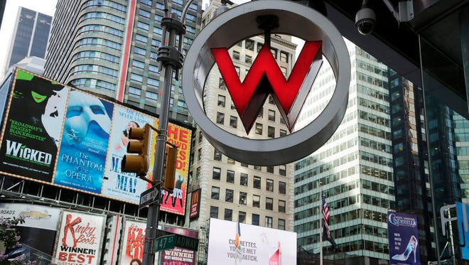 A Starwood-owned W Hotel in Times Square in New York.