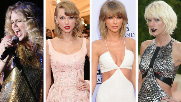 These specific Taylor Swift ensembles- from 2009, 2014,