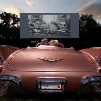 Drive-in movie theaters in (almost) every state