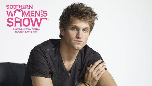 Enter to win tickets to meet Keegan Allen at the Southern Womens Show on April 1st.