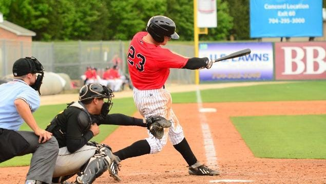 Loveland's Adam Engel moved from the Kannapolis Intimidators to high-A Winston-Salem in the White Sox organization this past season.
