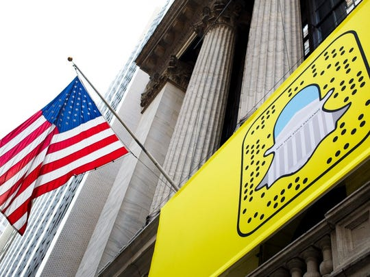 Snap gave an IPO price range that valued it over $20