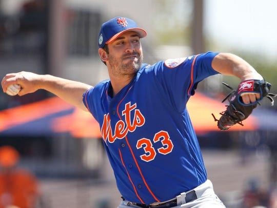 Mets pitcher Matt Harvey