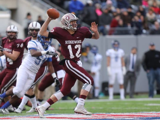 Ridgewood's Jack Barclay ran an option keeper 35 yards for a touchdown against Clifton.